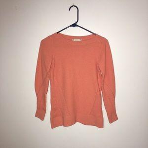 Loft brand orange sweater